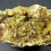 Fluorite Baryte & Zeunerite