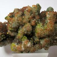 Fluorite & Chalcopyrite On Eisenkiesel
