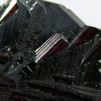 Rutile On Iron Rose & Rock Crystal