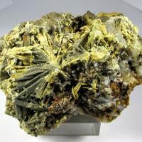 Stibiconite Psm Stibnite & Quartz