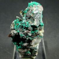 Brochantite On Quartz