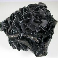 Psilomelane On Calcite