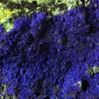 Azurite & Zincolivenite