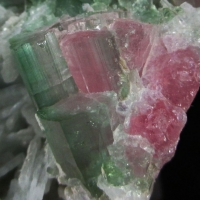 Elbaite On Cleavelandite