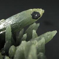 Prase Hematite & Hedenbergite