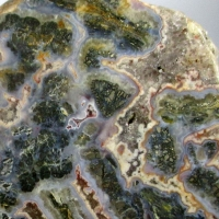 Agate Chalcedony & Pyrite