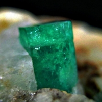 Emerald On Dolomite