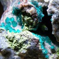 Dioptase & Conichalcite
