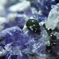 Diopside & Fluorite