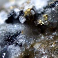 Hessite & Gold