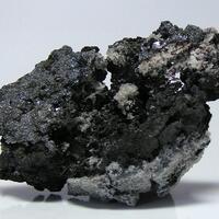 Native Silver Proustite & Nickelskutterudite