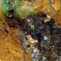 Native Silver On Tyrolite