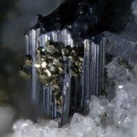 Liveingite With Pyrite