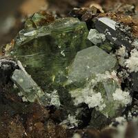 Ludlamite & Kryzhanovskite