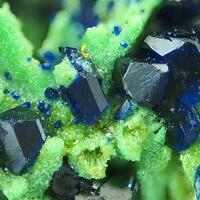Azurite & Bayldonite