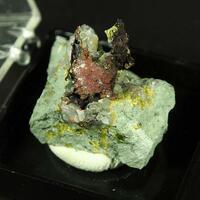 Native Silver On Copper