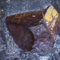 Hematite On Chalcocite