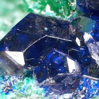 Azurite Caledonite & Arsentsumebite