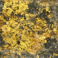 Native Gold In Stibnite