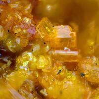 Vandendriesscheite & Ianthinite & Marthozite