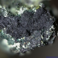 Molybdenite On Cerussite