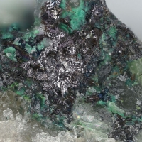 Rozhdestvenskayaite-(Zn) & Hessite