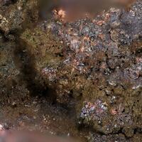 Berzelianite On Cuprite & Native Copper