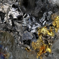 Coloradoite & Native Gold