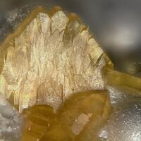 Baryte On Hydrozincite