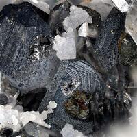 Polybasite & Acanthite