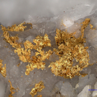 Gold Var Electrum & Hessite