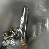 Argentotetrahedrite-(Fe) & Andorite