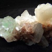 Fluorapophyllite-(K) & Stilbite
