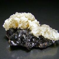 Baryte On Sphalerite