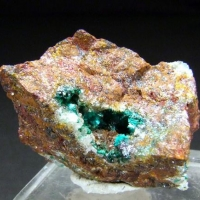 Brochantite & Cuprite