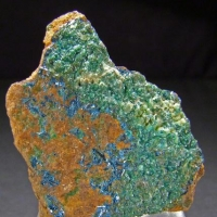 Clinoclase With Conichalcite & Hyalite