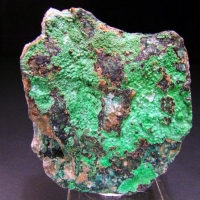 Conichalcite On Chrysocolla