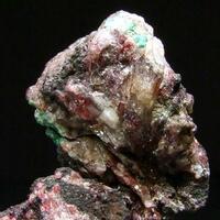 Cuprite Native Silver & Copper In Cerussite