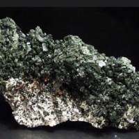 Diopside Albite Native Copper & Pumpellyite