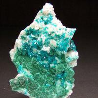 Dioptase Malachite & Calcite