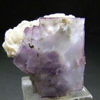 Fluorite On Muscovite & Quartz