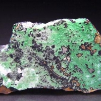 Hyalite On Conichalcite On Chrysocolla
