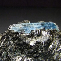 Kyanite On Biotite