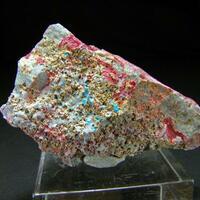 Lavendulan Erythrite & Smolyaninovite