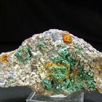 Malachite Cerussite & Native Silver