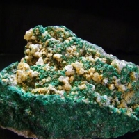 Malachite Cerussite Corkite & Chlorargyrite