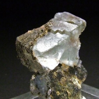 Marcasite On Fluorite & Siderite
