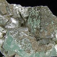 Marcasite On Fluorite