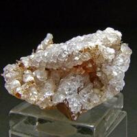 Mesolite & Phacolite On Ferroan Calcite