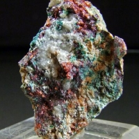 Native Copper Cuprite & Brochantite